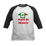 Made In Mexico Kids Baseball Jersey