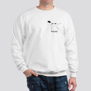 Black & White Pointer Sweatshirt