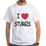 I heart sturgis White T-Shirt