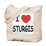 I heart sturgis Tote Bag