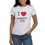 I heart mammoth cave Women's T-Shirt