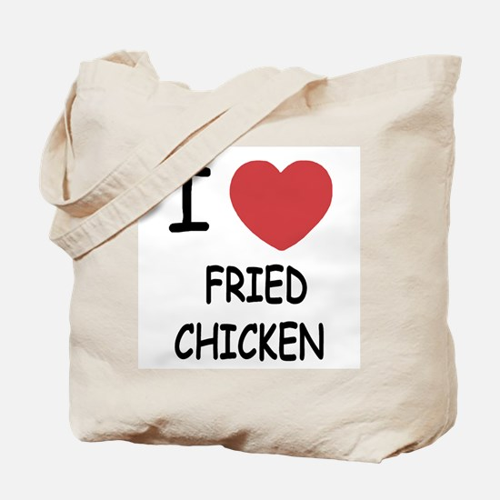 I heart fried chicken Tote Bag