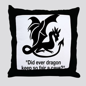 Romeo Quote Throw Pillow