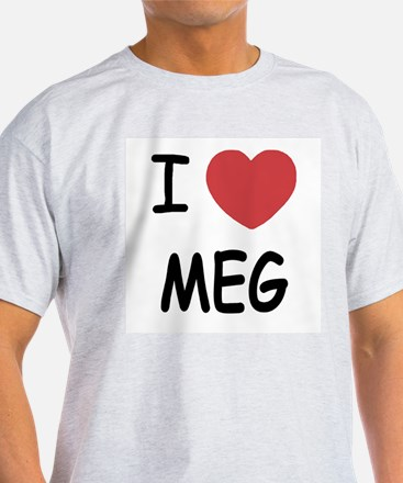 I heart meg T-Shirt