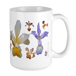 Spuria Iris decorated Large Mug