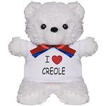 I heart creole Teddy Bear