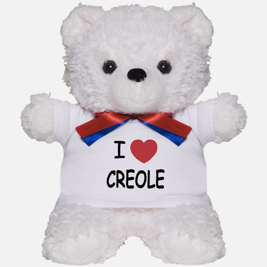 I heart creole Teddy Bear