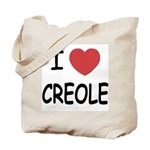 I heart creole Tote Bag