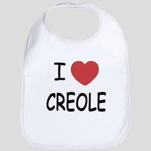 I heart creole Bib