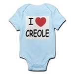 I heart creole Infant Bodysuit