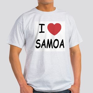 I heart samoa Light T-Shirt
