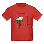 Notepad++ Kids Dark T-Shirt