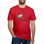 Notepad++ Men's Fitted T-Shirt (dark)