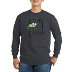 Notepad++ Long Sleeve Dark T-Shirt