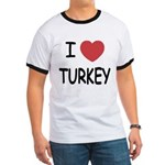 I heart turkey Ringer T