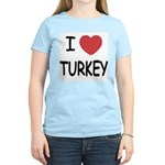 I heart turkey Women's Light T-Shirt