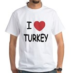 I heart turkey White T-Shirt