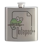 Notepad++ Flask
