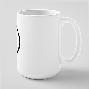 TT - Initial Oval Large Mug