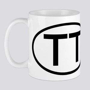 TT - Initial Oval Mug