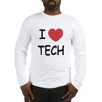I heart tech Long Sleeve T-Shirt