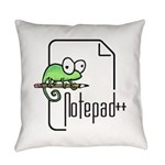 Notepad++ Everyday Pillow