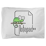 Notepad++ Pillow Sham