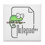 Notepad++ Tile Coaster