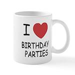 I heart birthday parties Mug