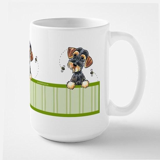 Wild Boar Dachshund Large Mug