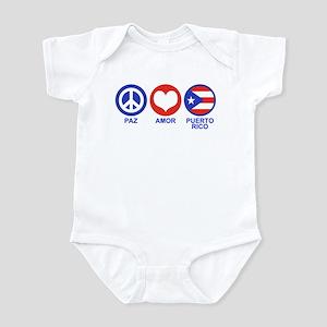 Paz Amor Puerto Rico Infant Bodysuit