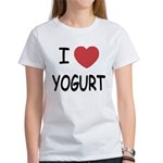 I heart yogurt Women's T-Shirt