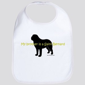 My Brother is a Saint Bernard Bib