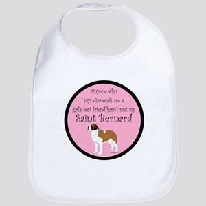 Girls Best Friend - Saint Ber Bib