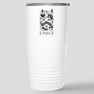 Gresham Stainless Steel Travel Mug