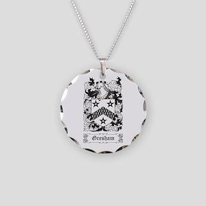 Gresham Necklace Circle Charm