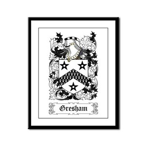 Gresham Framed Panel Print