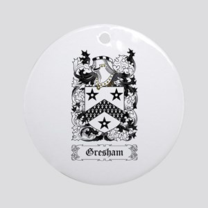Gresham Ornament (Round)