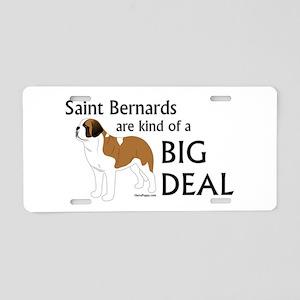 Saints are a Big Deal Aluminum License Plate
