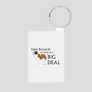 Saints are a Big Deal Aluminum Photo Keychain