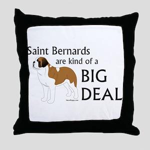 Saints are a Big Deal Throw Pillow