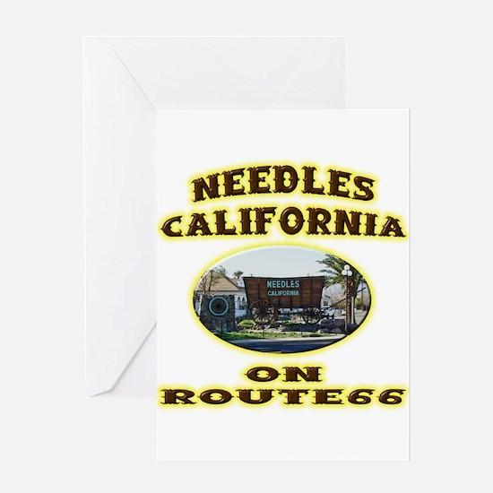 Needles California Greeting Card