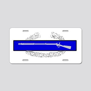 COMBAT INFANTRY BADGE Aluminum License Plate