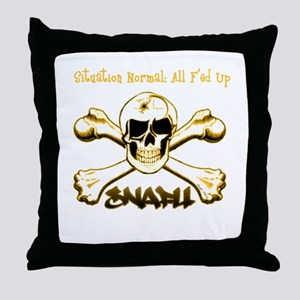 SNAFU - Situation Normal: Al Throw Pillow