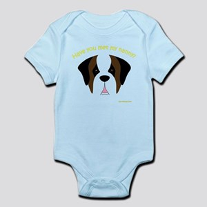 Saint Bernard Nanny Infant Bodysuit