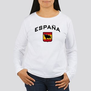Espana Women's Long Sleeve T-Shirt