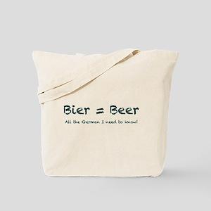 Bier Tote Bag