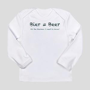 Bier Long Sleeve Infant T-Shirt
