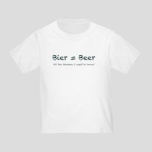 Bier Toddler T-Shirt