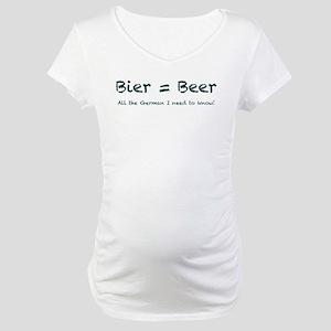 Bier Maternity T-Shirt